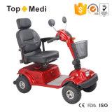 Topmediのランプおよび買物かごの運転を用いるFoldable取り外し可能な電力の移動性のスクーター