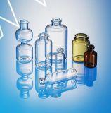 Het farmaceutische Flesje van het Glas voor Injectie en het Gebruik van het Laboratorium