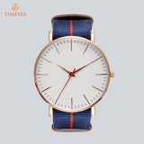 Вахты людей способа Wristwatches Dail нового вахты людей вахты руки типа изготовленный на заказ большие с черным Brown и Nylon полосой 72864