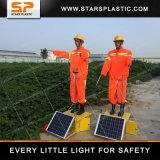 De zonne Robot van de Gids van de Politie van het Verkeer Valse voor Verkeersveiligheid