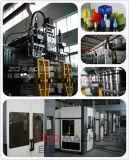 Máquina doble del moldeo por insuflación de aire comprimido de los PP de la estación para el envase de plástico (por CE)