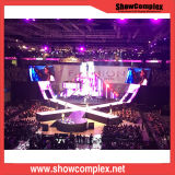 Showcomplex P3.91 hohe Deifinition farbenreiche Innenmiete LED-Bildschirmanzeige für Ereignis und Konzert