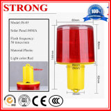 Alimentado por energía solar Luces de advertencia LED ámbar con alta intensidad de sensores