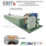 1 Tonne bis 100 Tonnen Schwachstrom-Verbrauchs-Block-Eis-Maschinen-