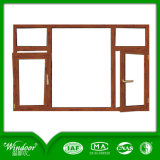 صلبة [وأك ووود] [كلدينغ] [ألومينوم ويندوو] وباب, رفاهيّة مظهر خشبيّة نافذة وباب