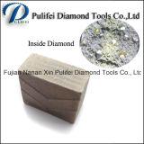 zaag van de Diamant van het Segment van het Graniet van het Deel van het Blad van het Staal van 1000mm de Scherpe