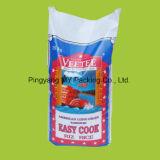 Мешок домашнего животного питания цыпленка PP слоения Вод-Сопротивления сплетенный едой