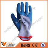 Покрынные латексом перчатки безопасности работы для строителей