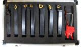 Trousse d'outils de rotation du carbure 7PC indexable neuf de taille de pouce de Cutoutil