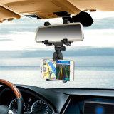 車のバックミラーの台紙の電話ホールダー