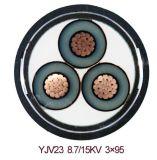 XLPE isolou cabo distribuidor de corrente de cobre blindado da fita de aço do revestimento do PE