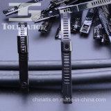 Tipo caliente ataduras de cables de la escala de la venta del acero inoxidable