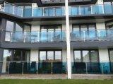 Ontwerp van het Traliewerk van het Balkon van Noord-Amerika het Standaard/het Traliewerk van het Glas Frameless met Aangemaakt Glas