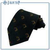 100% Seide-kundenspezifische Firmenzeichen-Krawatte
