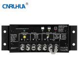 Contrôleur solaire de charge de première des ventes mini 20A 12V batterie de duo