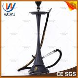 Shishaの木炭黒の煙ボールを煙らす溶接のステンレス鋼の小さくきれいなウエストの鍋の水ぎせるの配水管の水ぎせる