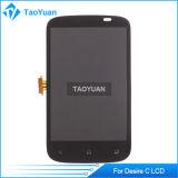 Полный цифрователь экрана LCD Display+Touch для черноты c A320e желания HTC