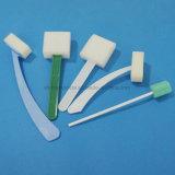 Bâton remplaçable d'éponge pour l'usage médical oral