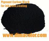 Negro de jet del negro de carbón del pigmento 7 Fumo para el plástico de la tinta de la capa
