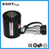Profilo basso leggero martinetto idraulico telescopico di alto tonnellaggio a semplice effetto