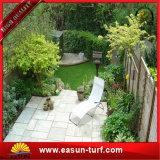 고품질 40mm 4개의 색깔 정원 인공적인 합성 잔디 뗏장