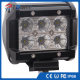 12V 18W 크리 사람 LED 일 빛 Offroad LED Worklight