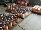 China-Fabrik-Preis-emaillierter kupferner plattierter Aluminiumdraht (ECCA Draht)