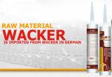Sigillante strutturale del silicone per la parete divisoria di vetro/forte sigillante del silicone del Gp strutturale