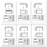 Acryldusche-Tellersegment/Dusche-Unterseite mit Cupc populär in Amerika (A-CVB-PM04)