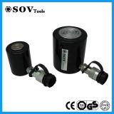 100ton cylindre mince à simple effet de la soupape d'arrêt cric hydraulique (SOV-RCS)