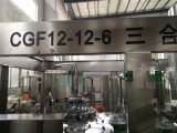 Линия разлива напитка фруктового сока/горячая машина завалки (10000B/H)