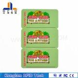 Cartão de PVC RFID Inteligente Laminação Térmica para Sistema de Patrulha