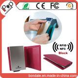 안전 방패 알루미늄 신용 카드 지갑