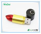 Disco instantâneo de venda quente do USB do batom com logotipo personalizado (WY-M84)