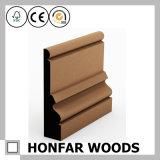 Modellatura di bordatura di legno dell'impiallacciatura della quercia del materiale da costruzione