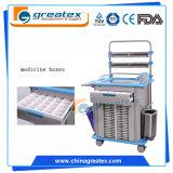 Carrello medico dell'acciaio inossidabile dei produttori di macchinari dell'ospedale