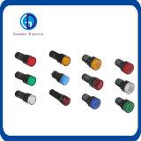 Ad16 Ad22 grünes rotes gelbes blaues Weiß 110V Gleichstrom-Kontroll-Lampen