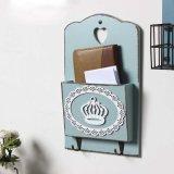 Caja de madera rústica de la pared (SCMB00119)