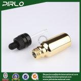 20ml 30ml 50ml 100ml Goldglas-wesentliches Öl-Flaschen E-Flüssigkeit Tropfenzähler-Flaschen