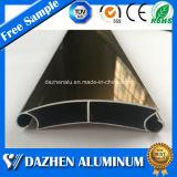 Perfil populares de aluminio de aluminio con diferentes colores para el rodillo de la ventana de puerta de persiana