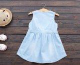 Robe de denim de filles de gosses de jupe d'été de vêtements d'enfants