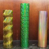 熱い押すホイルのホログラフィック金Silvere/カラー