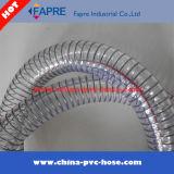 Aislante de tubo reforzado caliente del manguito del alambre de acero del PVC de China de la venta