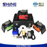 Machine de épissure de fibre automatique approuvée d'étalonnage de RoHS de la CE de Shinho
