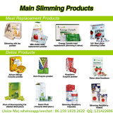A gerência do peso eficaz programa a agitação de leite para a perda de peso