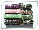 多くの別のデザインPUのウェビングナイロンペットカラーおよび鎖のカスタムペット製品