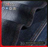 tissu de denim de Spandex de polyester de coton de sergé de l'indigo 11oz