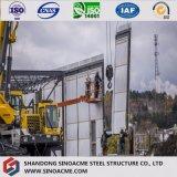 新しいデザインプレハブの高層鉄骨構造の建築構造