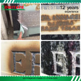 Sh3035 중대한 접착 돌 유리제 목제 조각을%s 잔류물 PVC 모래 분사 스텐슬 없음