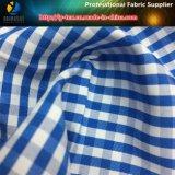 T/C 우연한 셔츠 사업 셔츠를 위한 털실에 의하여 염색되는 검사 직물